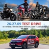 Test Drive CR-V Hybrid та мотоциклів Africa Twin 2020, CB 300 R, CMX 500 Rebel