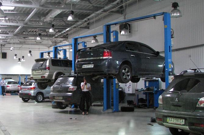 В каком СТО в Киеве сделать ремонт авто